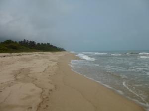La interminable playa!!