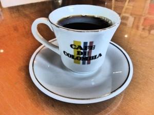 Una taza de café de Colombia