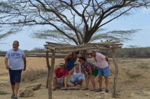 Tipico paradero Wayuu