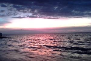 Rodadero Sea Sunset