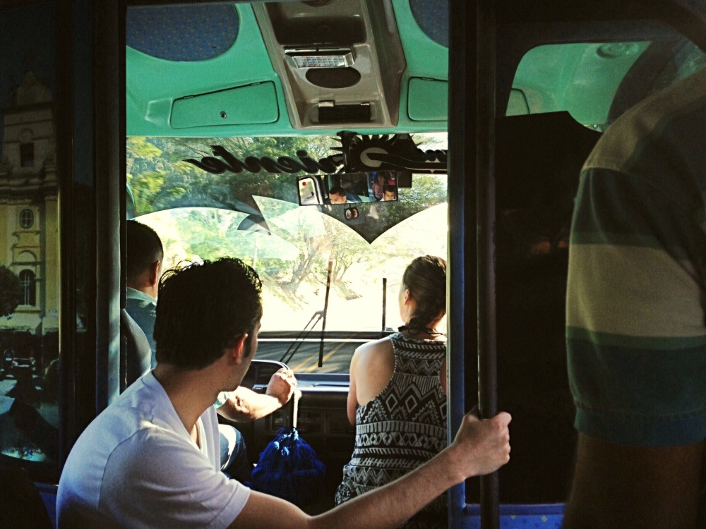 Bus from Santa Marta to Parque Tayrona