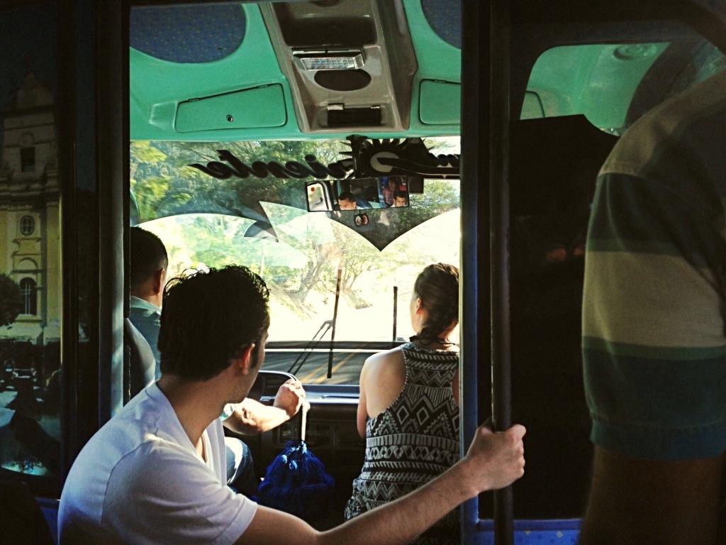 Bus from Santa Marta to Parque Tayrona