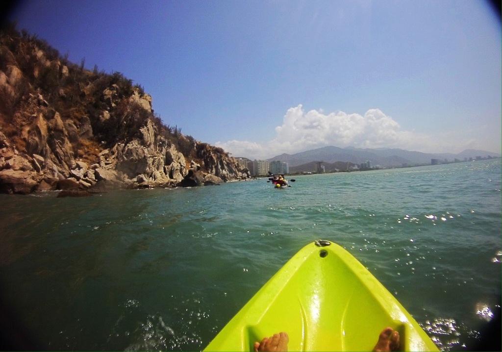 Kayaking near Santa Marta Paddle Santa Marta