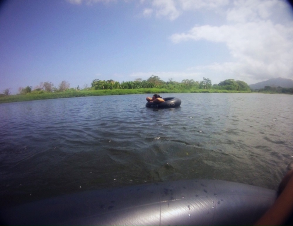 Floating in a tube down the Don Diego river with Bello Tours