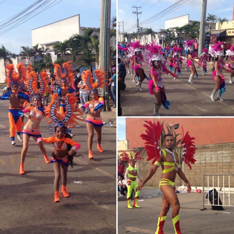 Parades at Barranquilla Carnaval 2017