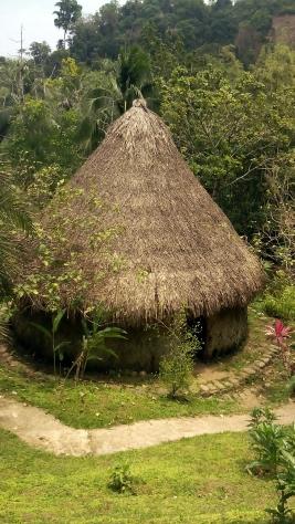 3 - Eine Hütte der Tairona - detailgetreu restauriert
