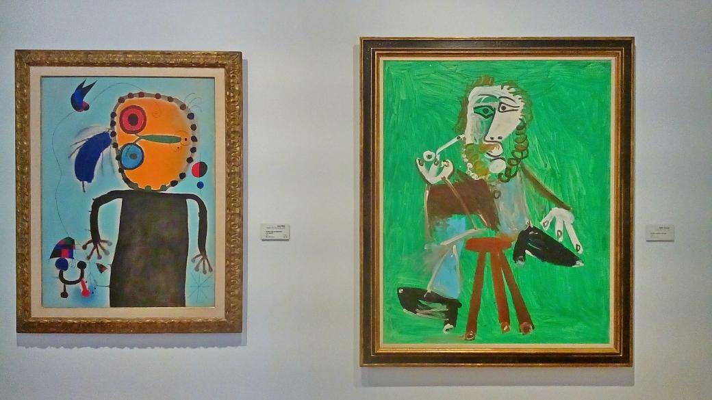 Picasso-Originale im Botero-Museum
