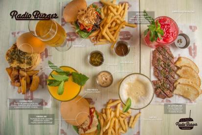 Restaurante Radio Burger
